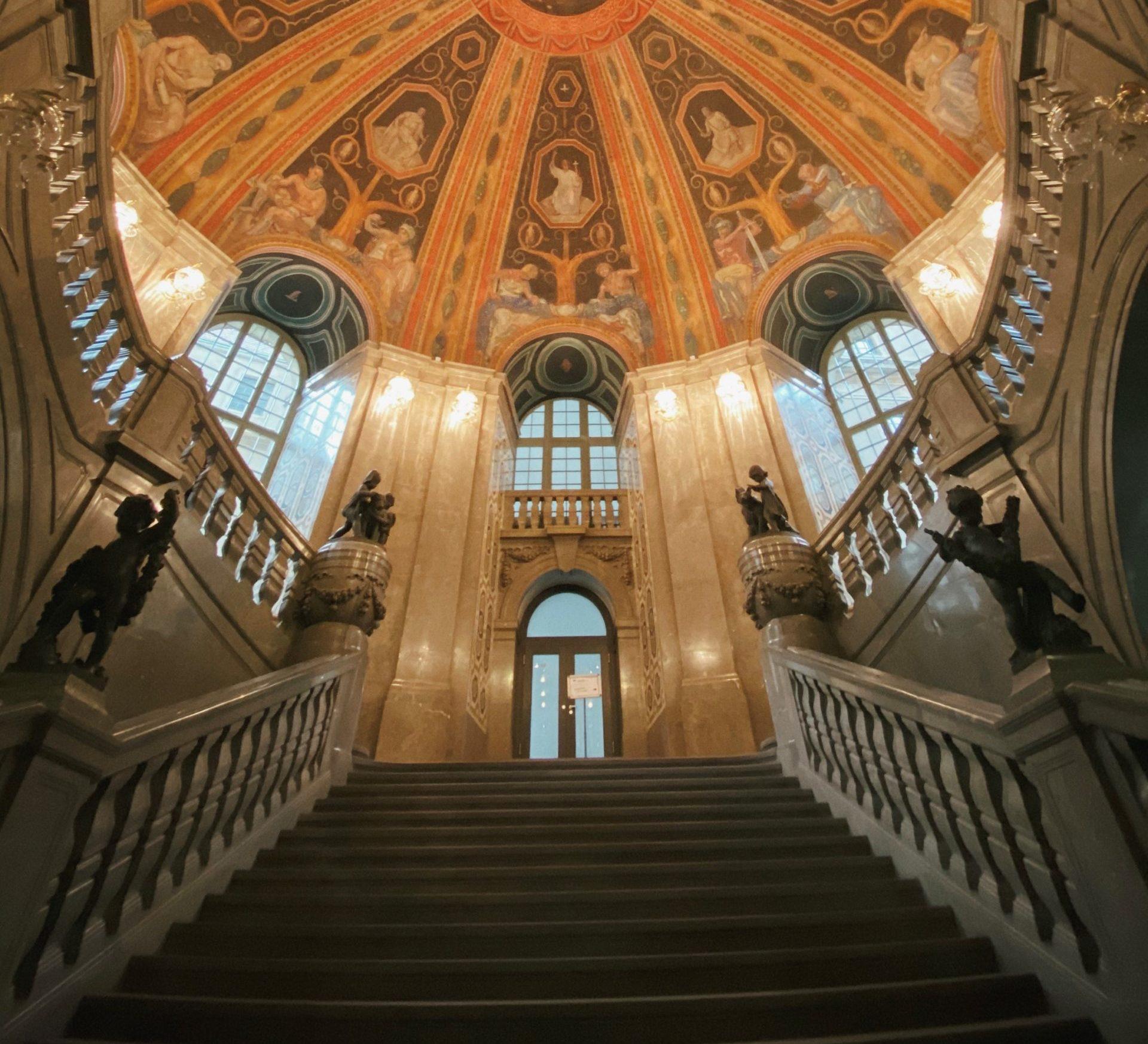 Rathaus Dresden von Innen
