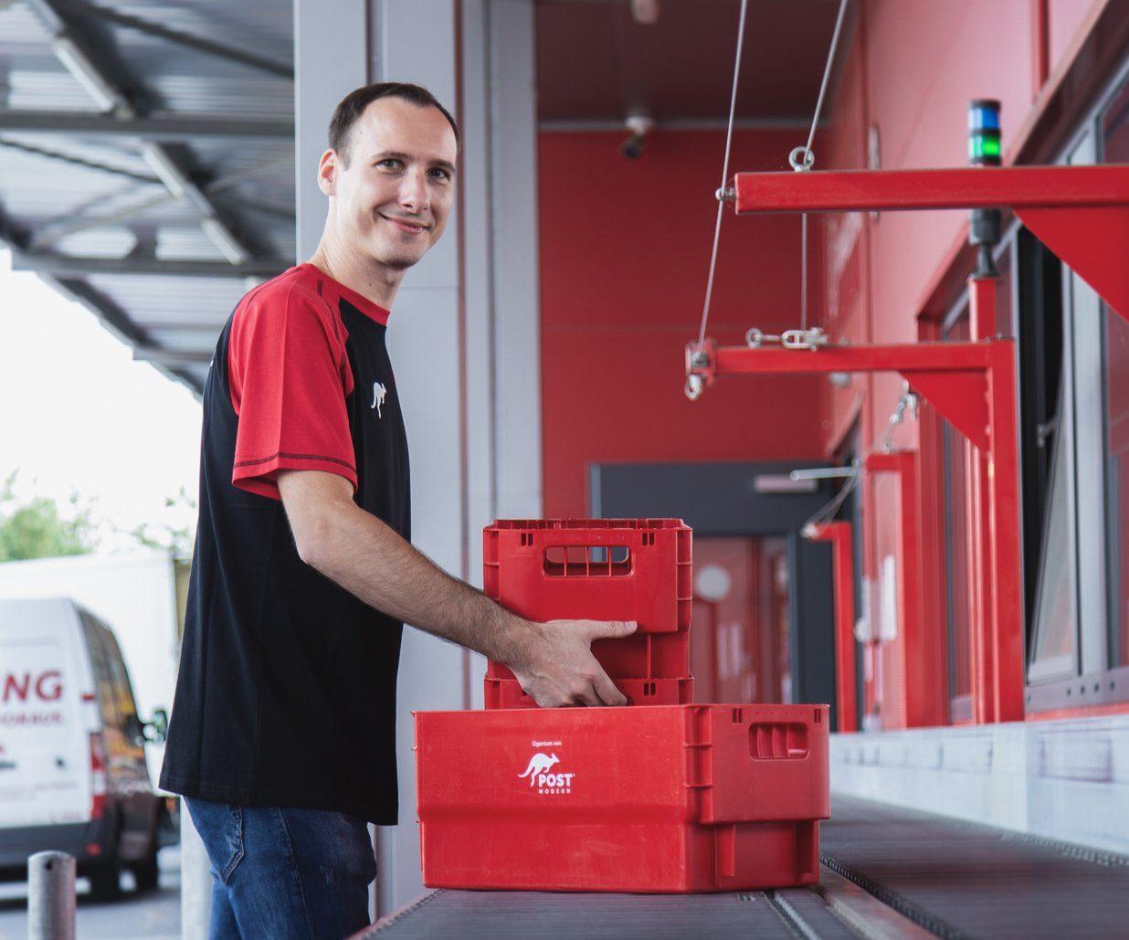 Briefsortierzentrum von PostModern in Dresden