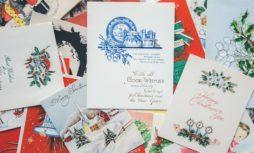Weihnachtskarten für Privatkunden von PostModern