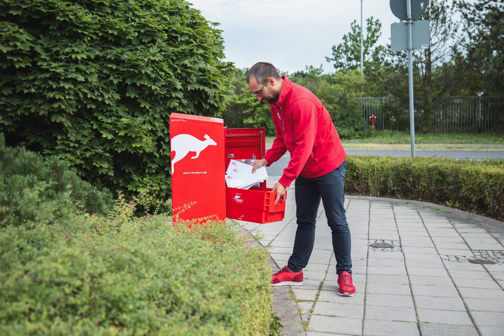 PostModern holt Briefe ab