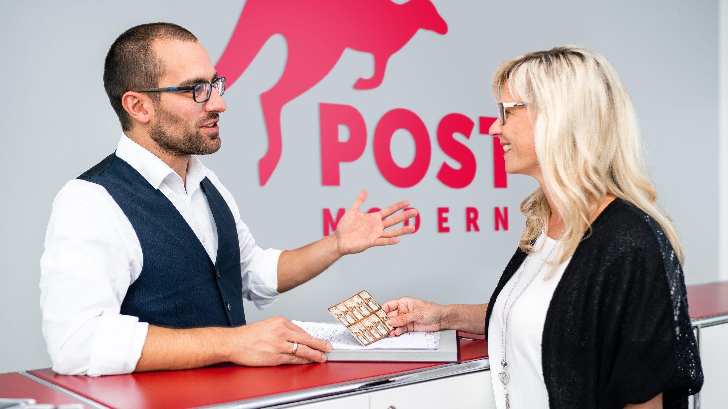 Servicepunkte von PostModern