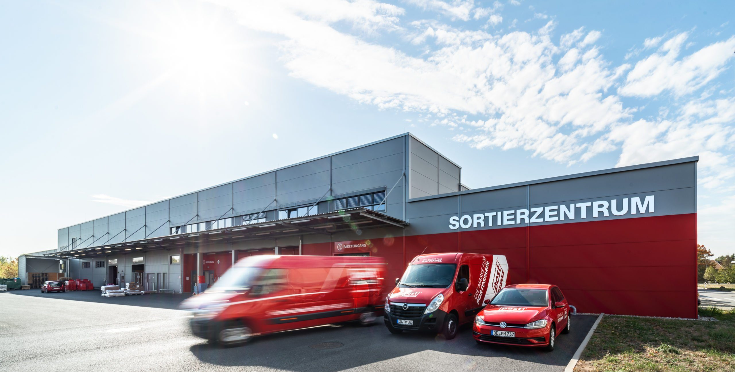 Sortierzentrum PostModern